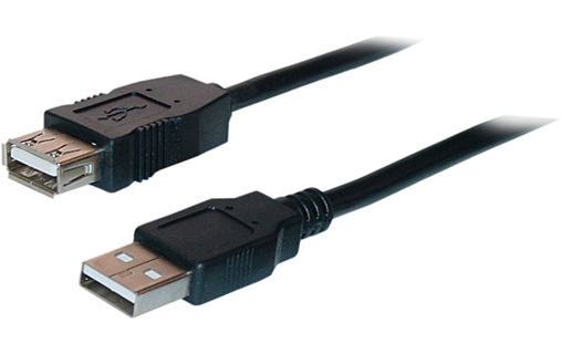 Rallonge USB 2.0 - A/A - 01.80 Métre