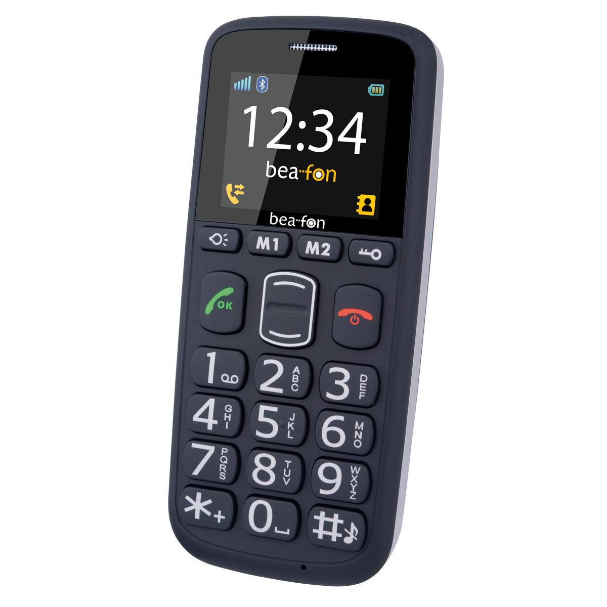 BEA FON Téléphone Mobile S40 Noir