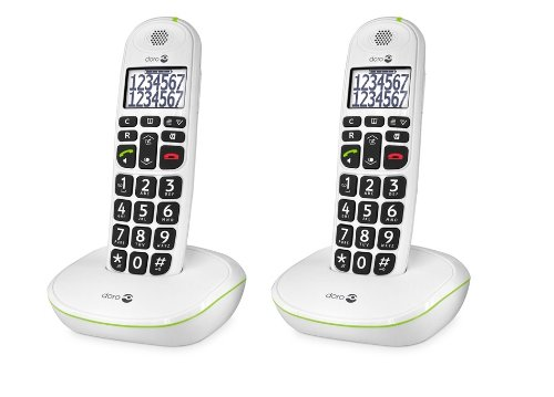 Doro PhoneEasy® 110 Duo Blanc