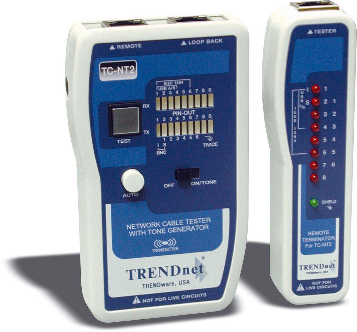 TRENDnet TC-NT2 - Testeur de câble Pro (TP & Coax)
