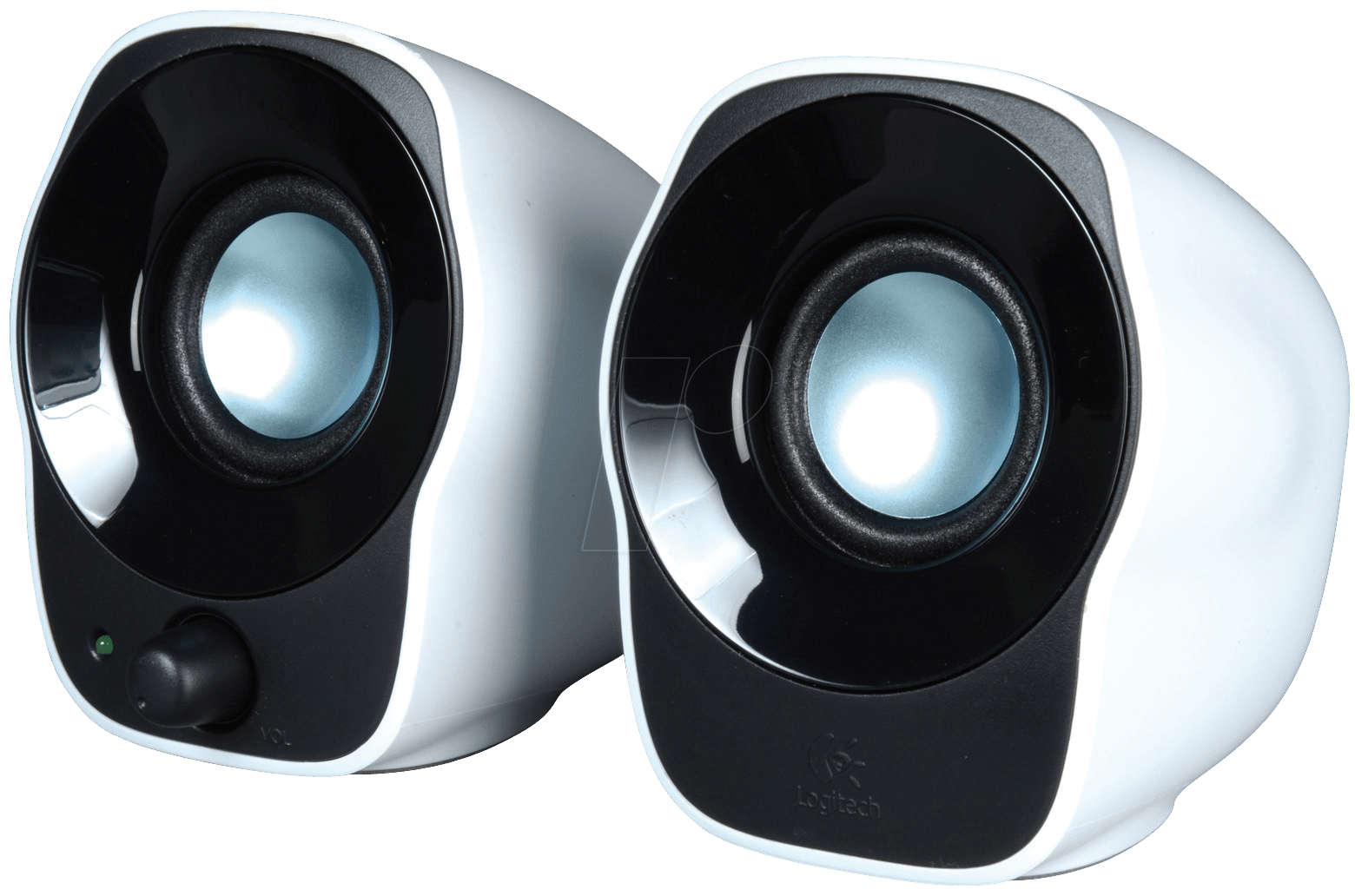 Enceinte Logitech Z120 - Blanc/Noir - 980-000513