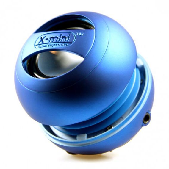 X-MINI - Mini enceinte capsule X-MINI II - BLEU