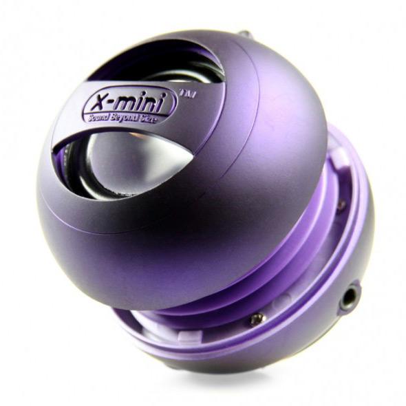 X-MINI - Mini enceinte capsule X-MINI II - VIOLET