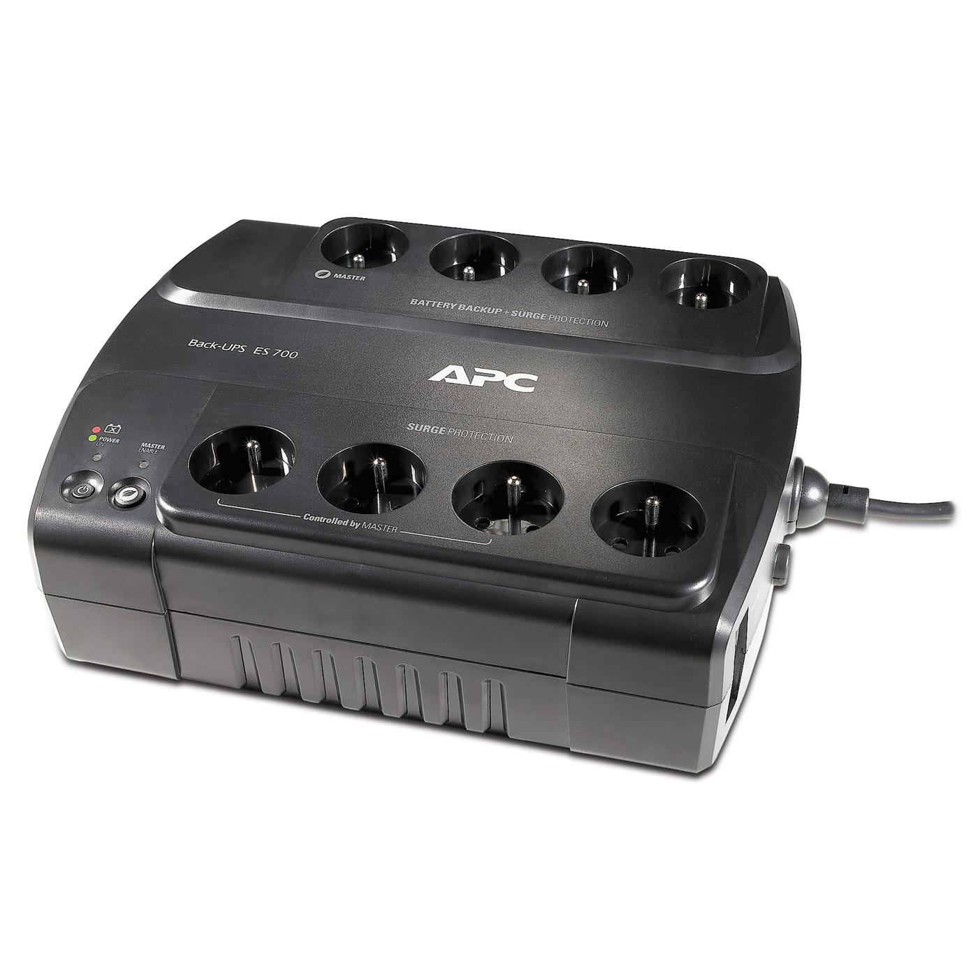 Onduleur APC Back-UPS ES 700VA - BE700G-FR