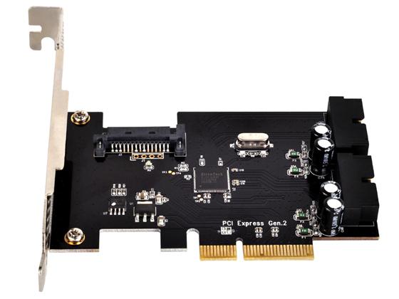 Carte PCI-Epresss - USB 3.0 - 2 Internes