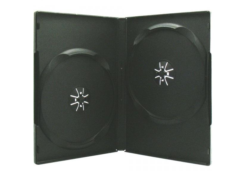 Boitier DVD - 2 DVD - Standard - Noir - A L'unité