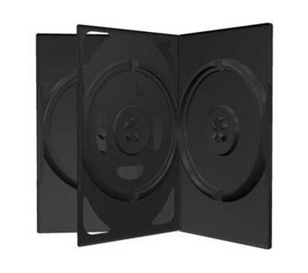 Boitier DVD - 3 DVD - Standard - Noir - A L'unité