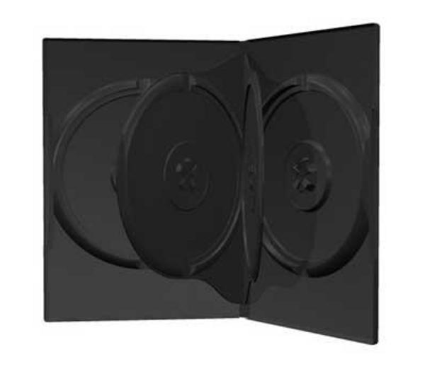 Boitier DVD - 4 DVD - Standard - Noir - A L'unité