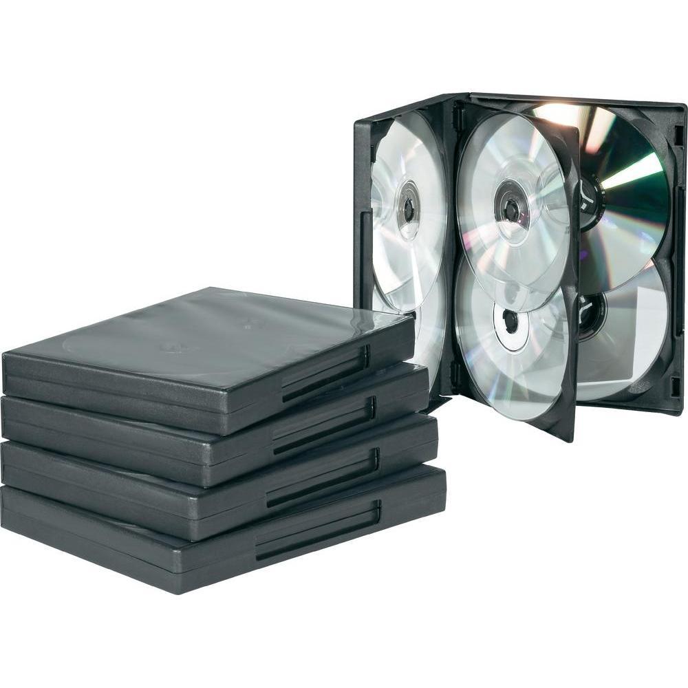 Boitier DVD - 6 DVD - Standard - Noir - A L'unité