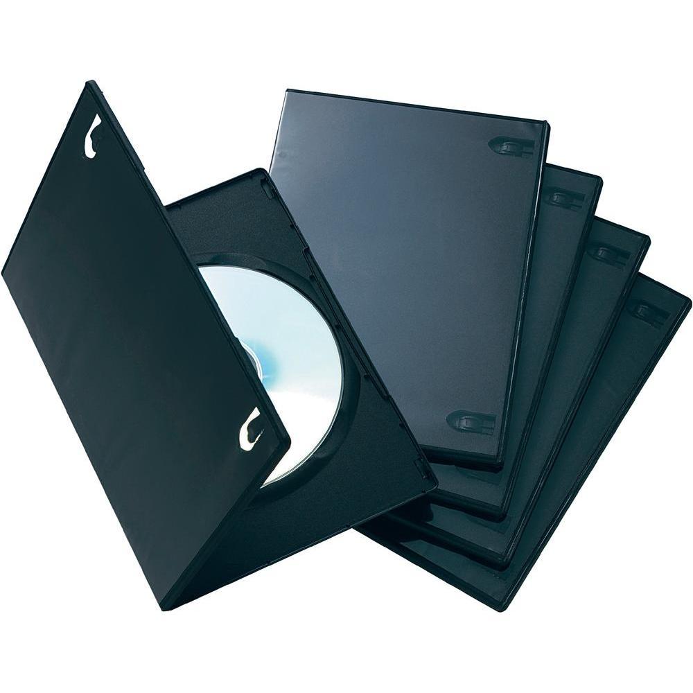 Boitier DVD - 1 DVD - Slim - Noir - A L'unité