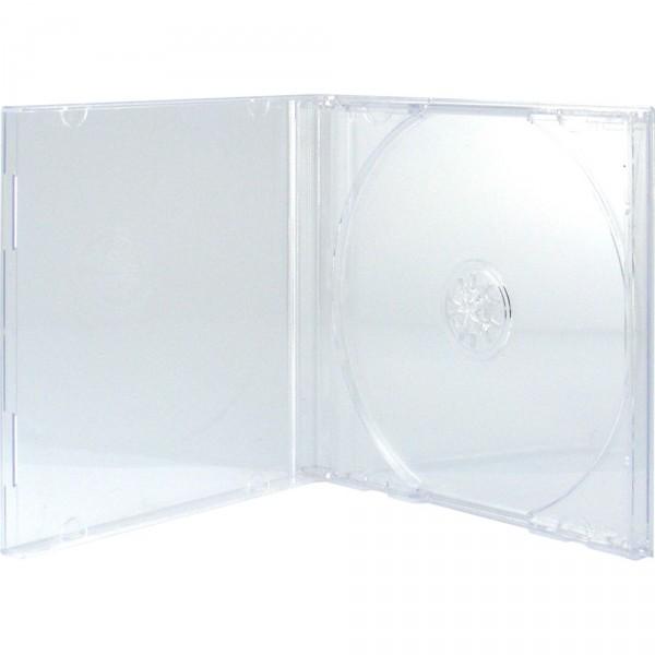 Boitier CD - 1 CD - Slim - Transparent - A L'unité