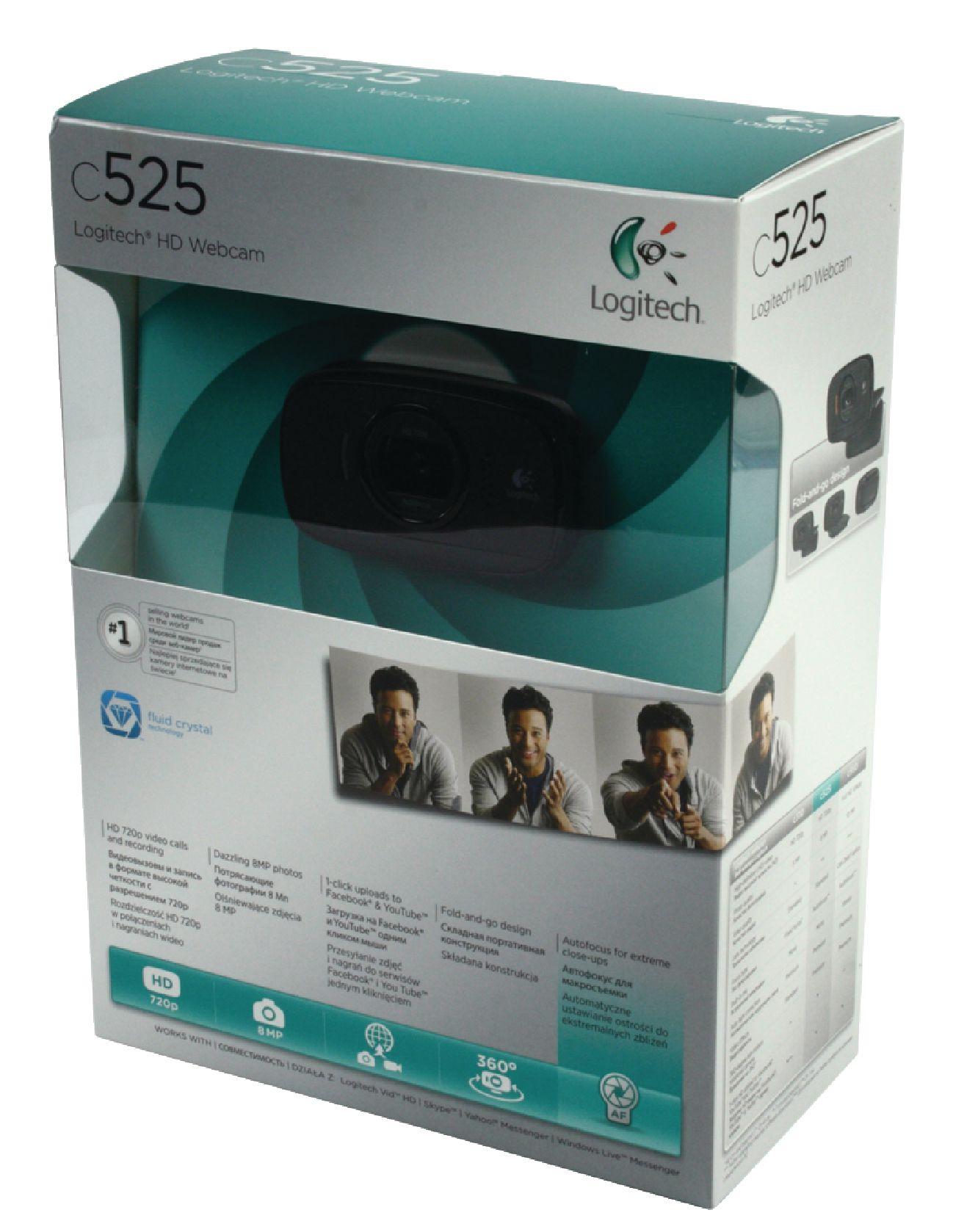 Webcam Logitech C525 - Réf. 960-000721