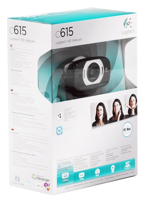 Webcam Logitech C615 - Réf. 960-000735