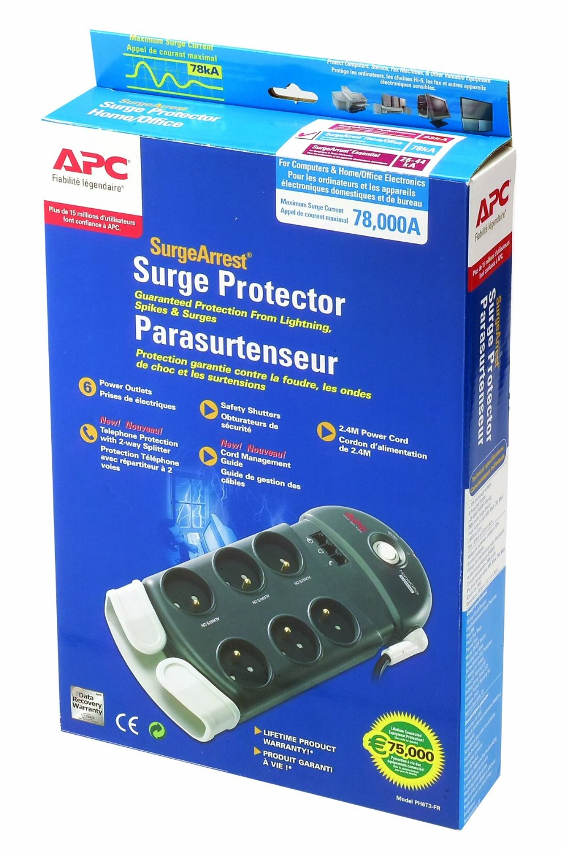 APC Essential SurgeArrest - 6 Prises - PH6T3-FR