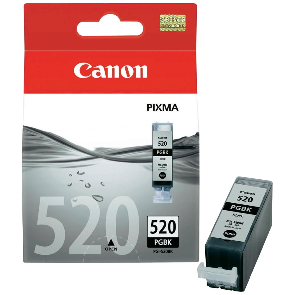 Cartouche Canon PGI-520BK Noir - 2932B001