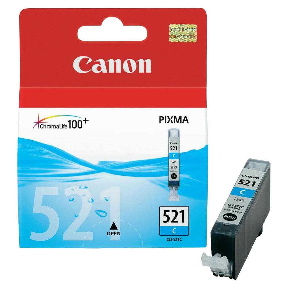 Cartouche Canon CLI-521C Cyan - 2934B001