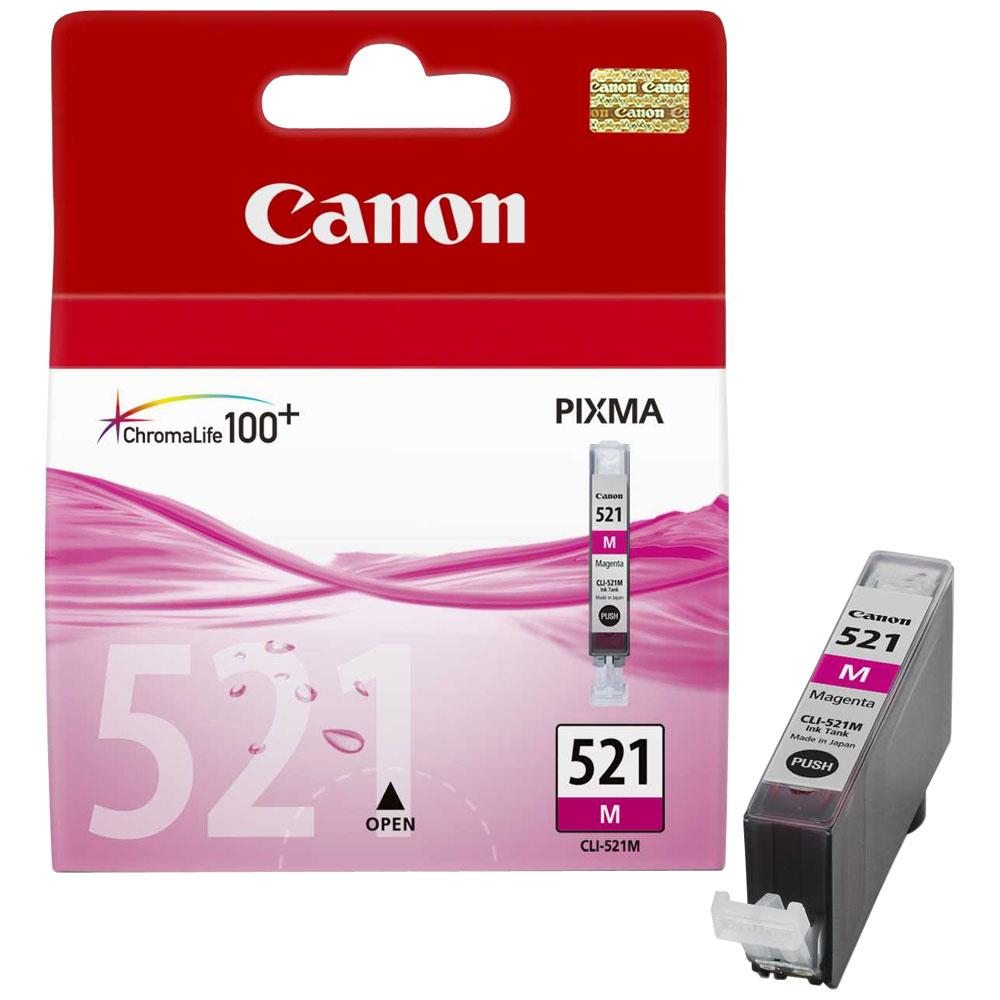 Cartouche Canon CLI-521M Magenta - 2935B001