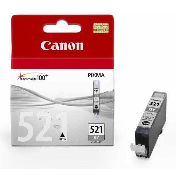 Cartouche Canon CLI-521GY Grise - 2937B001
