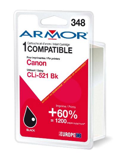 Cartouche Armor CLI521BK Noir - K12465