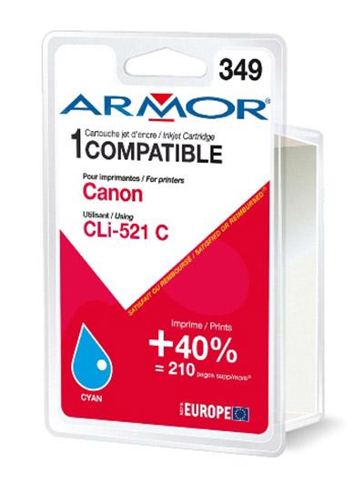 Cartouche Armor CLI521C Cyan - K12466