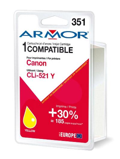 Cartouche Armor CLI521Y Yellow - K12468