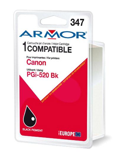 Cartouche Armor PGI520BK Noir - K12464
