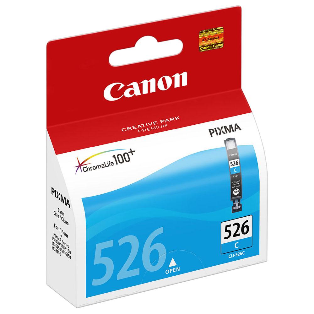 Cartouche Canon CLI-526C Cyan - 4541B001