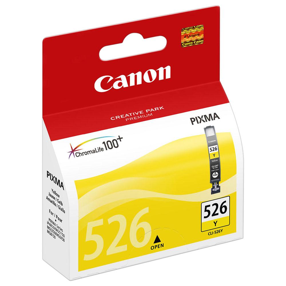 Cartouche Canon CLI-526Y Yellow - 4543B001