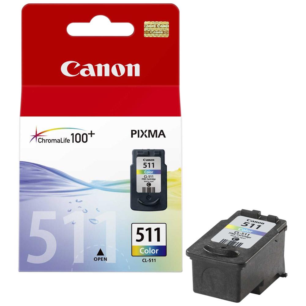 Cartouche Canon CL-511 Couleur - 2972B001