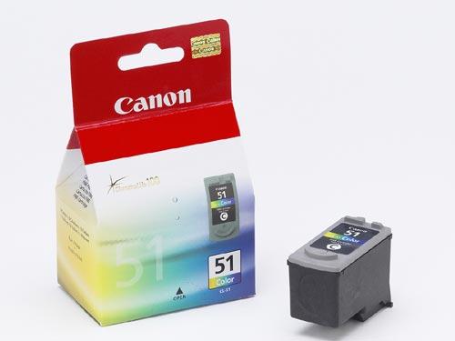 Cartouche Canon CL-51 Couleur - 0618B001