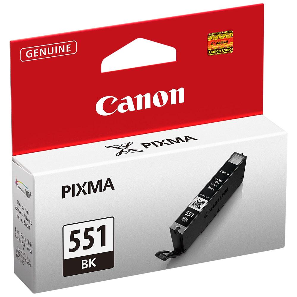 Cartouche Canon CLI-551 BK Noir -  6508B001AA