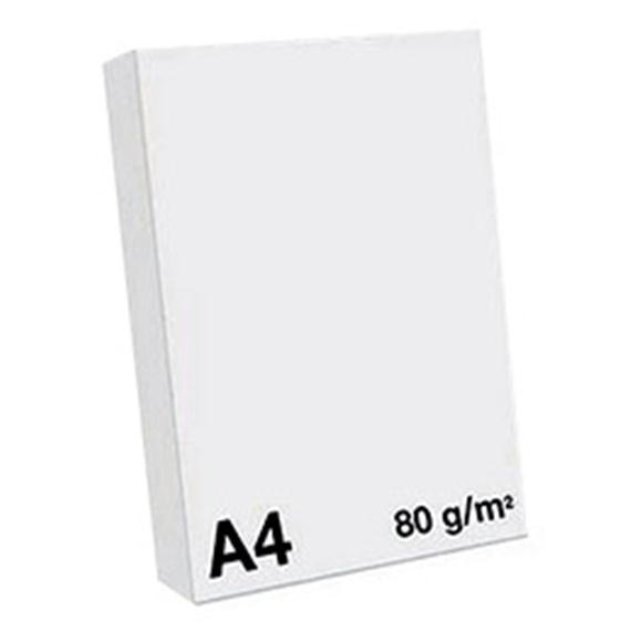 Ramette Papier A4 - 80Grs - Blanc - 500 Feuilles - Unité
