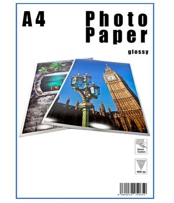 Papier Photo - A4 - Brillant - 250g/m² - 50 Feuilles