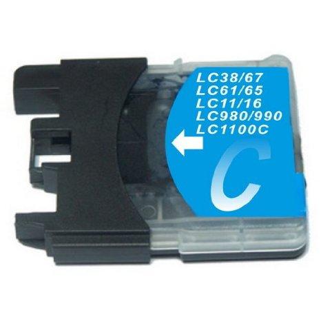 Cartouche Générique LC980C / LC1100C - Cyan