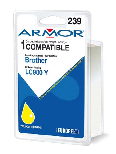 Cartouche Armor LC900Y - Yellow