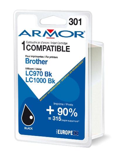 Cartouche Armor LC970BK / LC1000BK - Noir