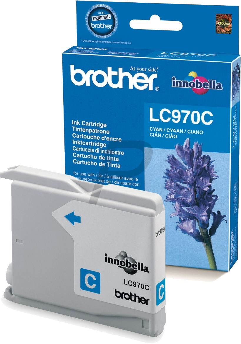 Cartouche Brother LC970C - Cyan