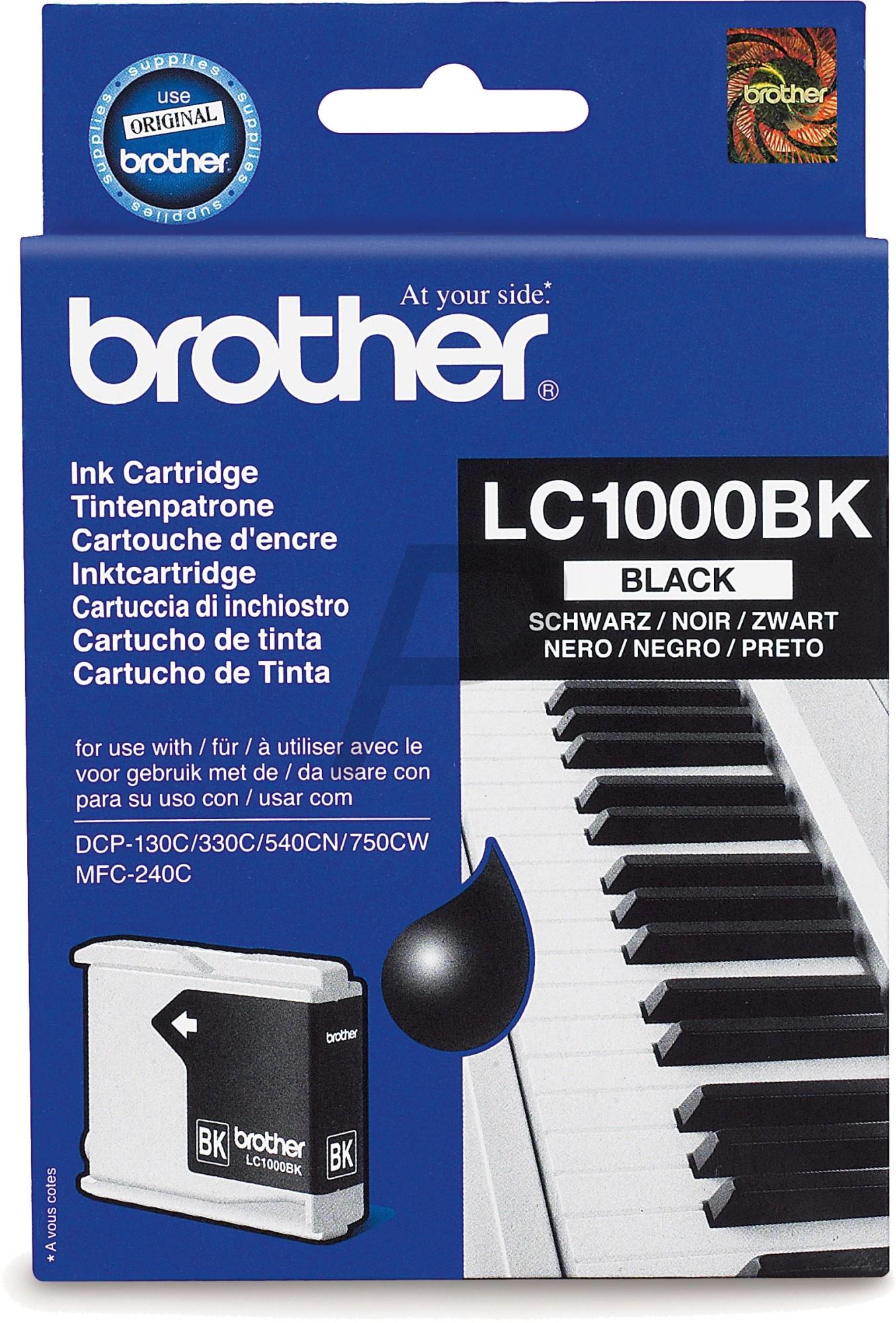 Cartouche Brother LC1000BK - Noir