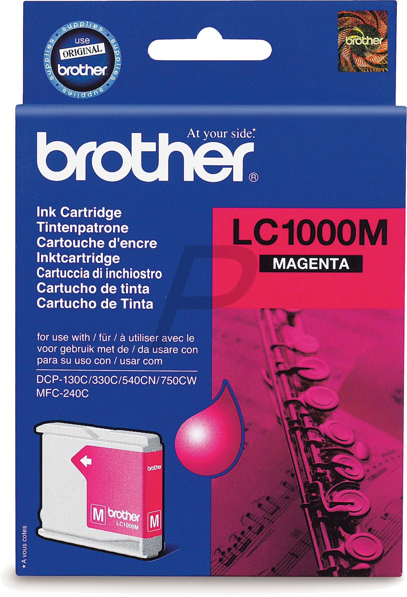 Cartouche Brother LC1000M - Magenta
