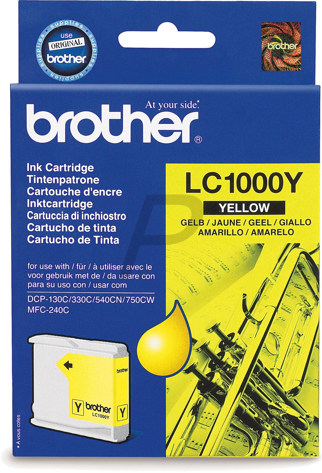 Cartouche Brother LC1000Y - Yellow