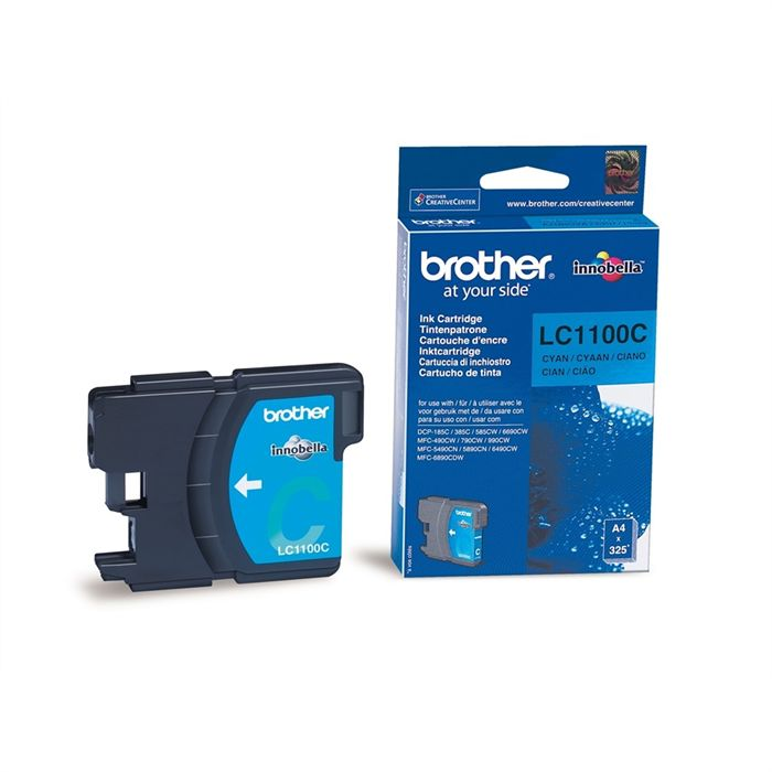 Cartouche Brother LC1100C - Cyan