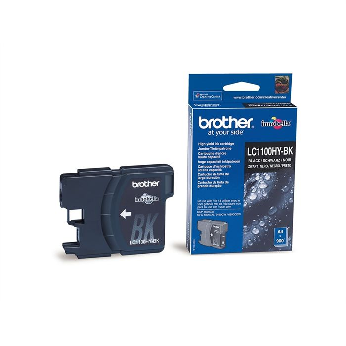 Cartouche Brother LC1100HY-BK - Noir