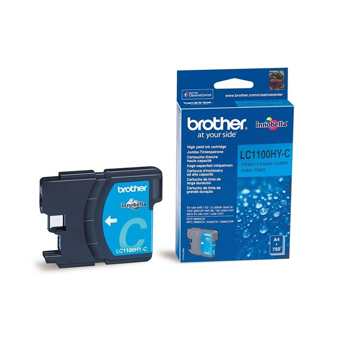 Cartouche Brother LC1100HY-C - Cyan
