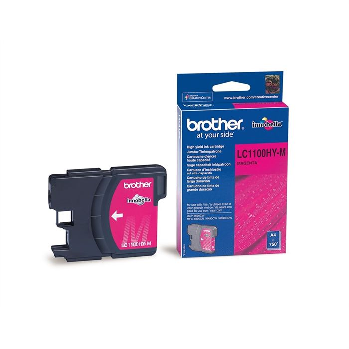 Cartouche Brother LC1100HY-M - Magenta