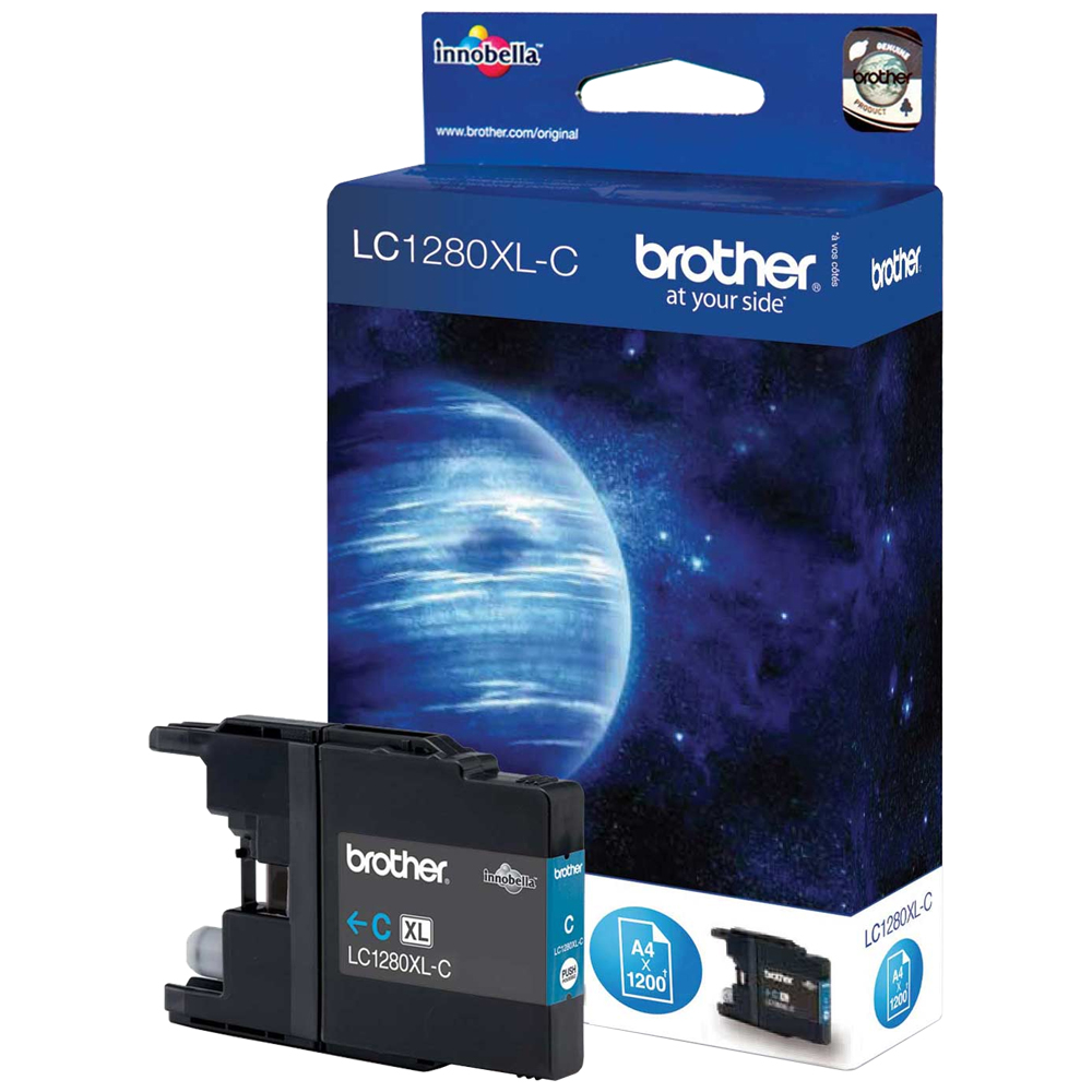 Cartouche Brother LC1280XLC - Cyan
