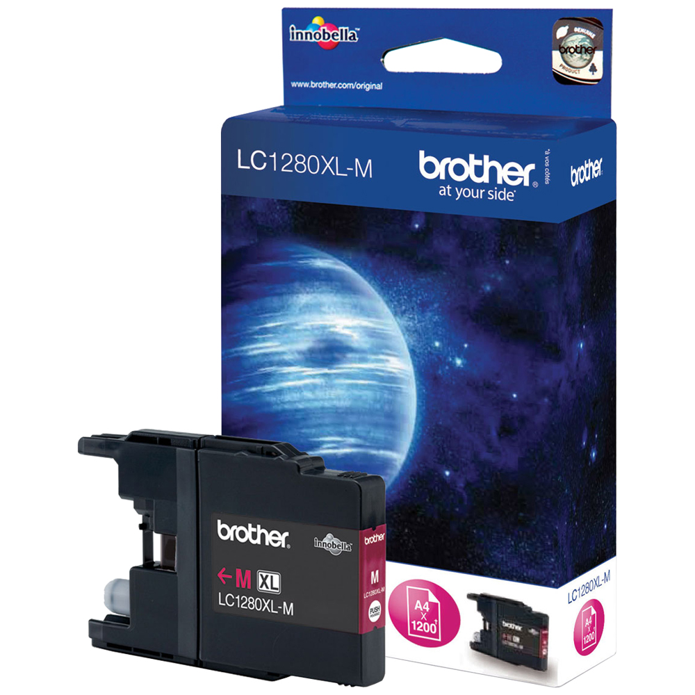 Cartouche Brother LC1280XLM - Magenta