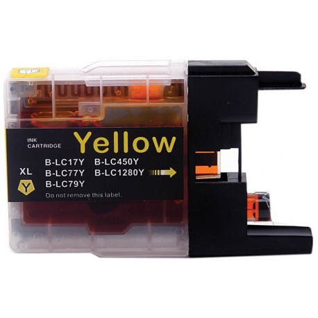 Cartouche Générique LC1280Y - Yellow