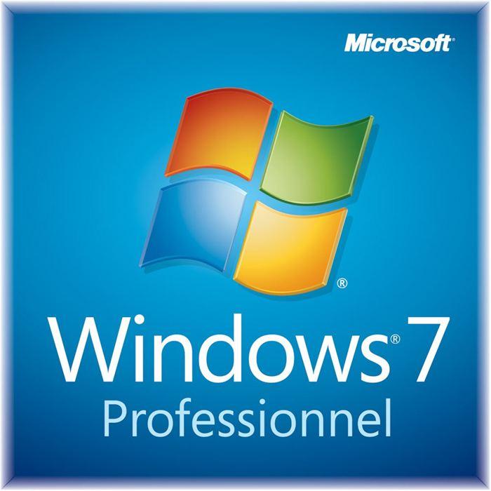 Windows 7 - Professionnel - 64 Bits - DVD - OEM