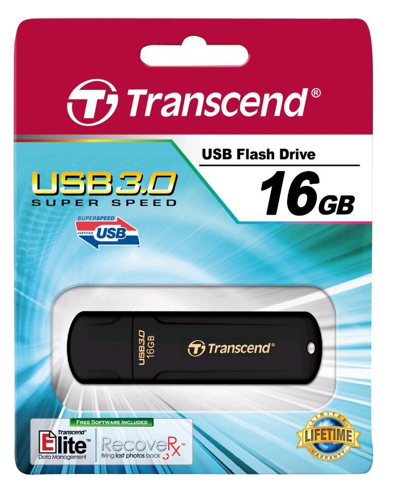 Transcend JetFlash 700 - Clé USB 3.0 - 16Go - TS16GJF700