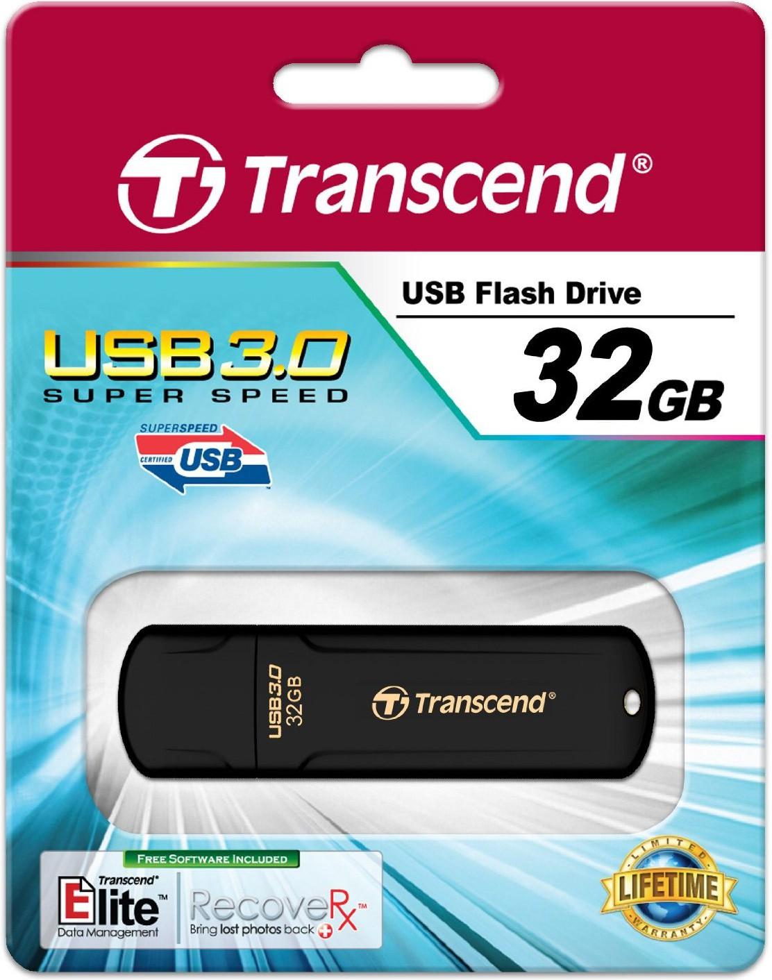Transcend JetFlash 700 - Clé USB 3.0 - 32Go - TS32GJF700